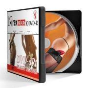 Диск DVD-R Mirex 4,7 Gb 16x Beauty Flower, в пластиковом портмоне, 10 шт