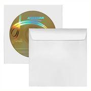 Конверт бумажный на 1CD с окном А-медиа белый, 1000шт