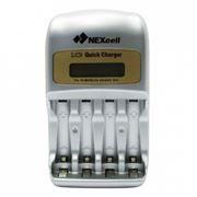 Зарядное устройство NEXCELL QC-1200, микропроцессор, LCD-дисплей