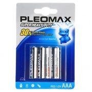 Батарейка AAA SAMSUNG PLEOMAX R03-4BL, солевая, 4шт, блистер