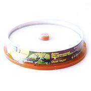 Диск DVD+R SmartTrack 8,5 Gb 8x DL Printable, Cake Box, 10шт