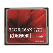 Карта памяти CompactFlash 32Gb Kingston Ultimate 266x (CF/32GB-U2)