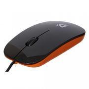 Мышь DEFENDER NetSprinter 440 BO, чёрно-оранжевая, USB (52444)