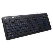 Клавиатура A4-TECH KD-126-1 Black USB (Blue Light) c подсветкой клавиш