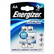 Батарейка AA ENERGIZER Lithium Ultimate L91 6-2BL, 2шт, блистер