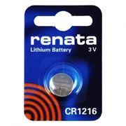 Батарейка CR1216 Renata, 1 шт, блистер