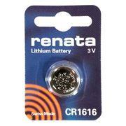 Батарейка CR1616 Renata, 1 шт, блистер