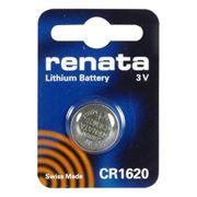 Батарейка CR1620 Renata, 1 шт, блистер