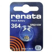 Батарейка Renata R 364 SR621SW 1.55V, 1 шт, блистер