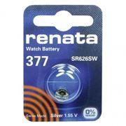 Батарейка Renata R 377 SR626SW 1.55V, 1 шт, блистер