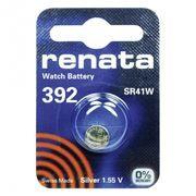 Батарейка Renata R 392 SR41W 1.55V, 1 шт, блистер
