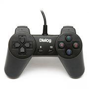 Геймпад DIALOG GP-A01 USB, черный