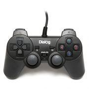 Геймпад DIALOG GP-A11 USB, черный