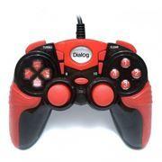 Геймпад DIALOG GP-A15 USB, черно-красный