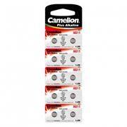 Батарейка Camelion G11 362A/LR721/162 1.5V, 10 шт, блистер