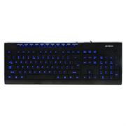 Клавиатура A4-TECH KD-800L Black USB (Blue Light)  c подсветкой клавиш