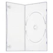 BOX 1 DVD Slim 9mm, прозрачный (коробочка на 1 DVD)