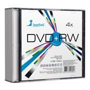 Диск DVD+RW SMARTTRACK 4,7 Gb 4x, Slim Case