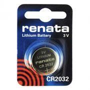 Батарейка CR2032 Renata, 1 шт, блистер