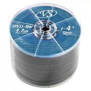 Диск DVD+RW VS 4,7 Gb 4x, Bulk 50 шт (VSDVDPRWB5001)